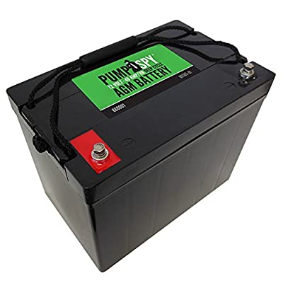 PumpSpy 12 VDC 40 Ah Deep Cycle AGM Battery