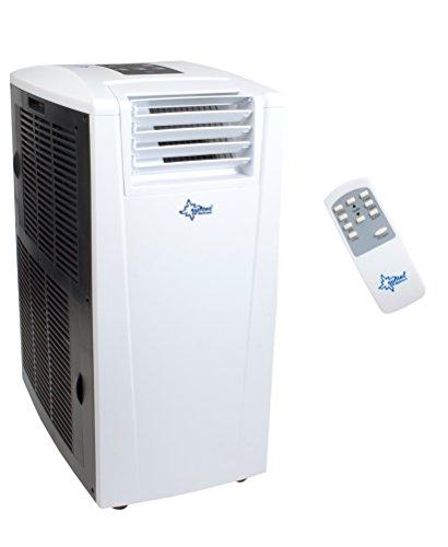 KLIMATRONIC TRANSFORM 14.000  mobiles lokales Klimagerät  [11665] [EEK A/A++] (Für Räume bis 160m³ (~70m²), Kühlen + Heizen + Entfeuchten, 14000 BTU/h, weiß)