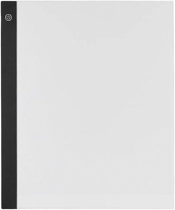2500LUX LEDトラッキングタブレット、ライティングタブレットを介したType-C LEDトラッキングパッド、子供向け、子供向け絵画、描画(Three gear dimming)
