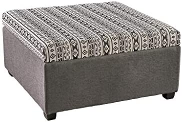 Christopher Knight Home Malloy Fabric Storage Ottoman