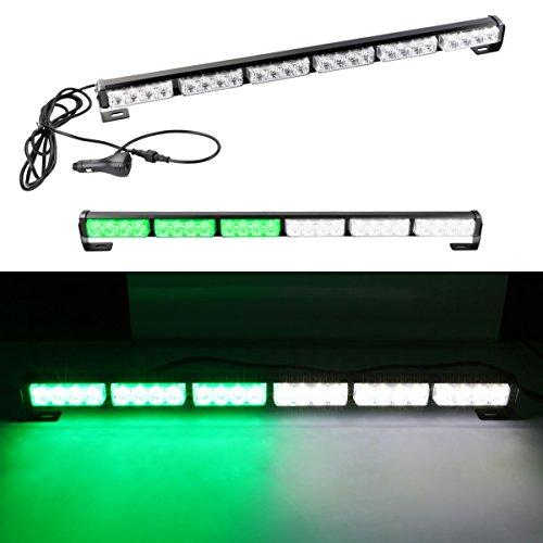 HY 24 LED 24W Strobe Light Bar for Trucks Cars Visor Light 27 Emergency Hazard Warning Strobe Flash Beacon Lamp Bar