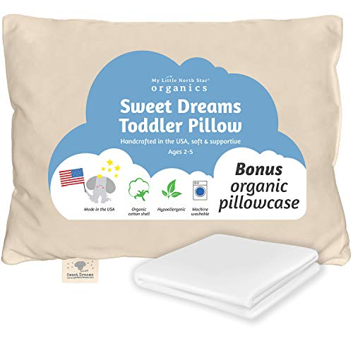 Toddler Pillow Made in