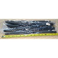 Lot of 10 Polycom SoundPoint Dark Gray 9 Ft Handset Phone Coiled Cords VVX and IP Series by DIY-BizPhones