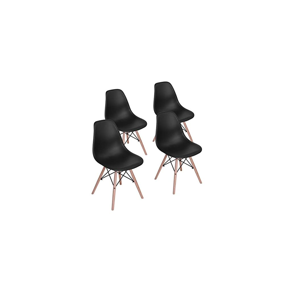 Homy Casa Dining Chairs Mid Century Side Chair For Dining