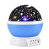 Elmchee Star Night Light for Kids, Universe Night Light Projection Lamp, Romantic Star Birthday Projector Lamp for Bedroom