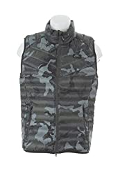 678283-037 MEN GUILD 550 PRINTED VEST NIKE TUMBLED GREY/DEEP PEWTER
