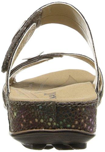 US black Fidschi 5 dress Kombi EU Vel Shiny M Taupe Women's Sandal ROMIKA Kombi 5 22 36 5 XxBOUp