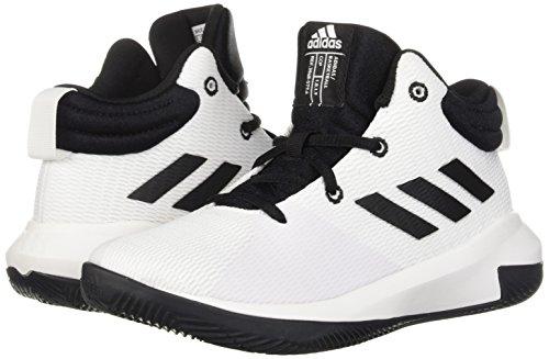 Unisex Elevate Adidas Basketball ShoeBlackwhite2 Us Pro M 2018 On0v8mNw
