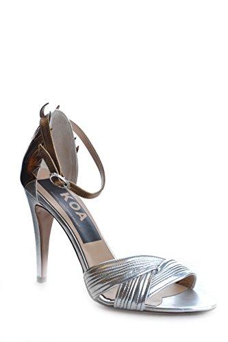 GOLDEN GOOSE Sandalias de Vestir Para Mujer Plateado Plata It - Marke Größe