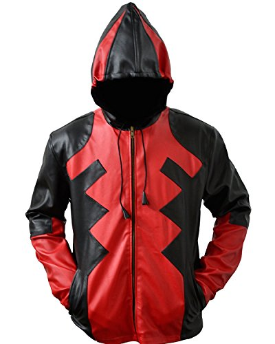 M2M Deadpool Corps Leather Jacket product image