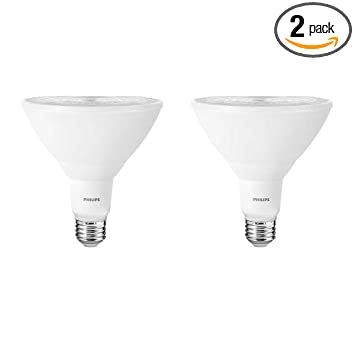 Philips Outdoor Led Lighting Philips 460063 100w equivalent bright white par38 indooroutdoor led philips 460063 100w equivalent bright white par38 indooroutdoor led light bulb2 pack workwithnaturefo
