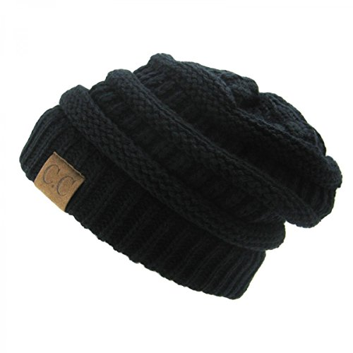 Black_Winter Hat Cap Fashion Cap- outdoor skiing (US - Versace Hat Fitted