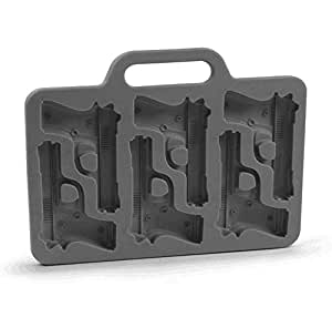 Handgun Ice Tray Chocolate Soap Tray Mold Silicone