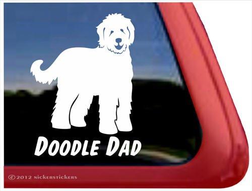 Doodle Dad Labradoodle Goldendoodle Sticker