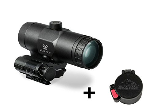 Vortex VMX-3T Magnifier with Flip Mount With a Free Butler Creek Flip-Open Objective Scope Cover included! by Vortex Optics