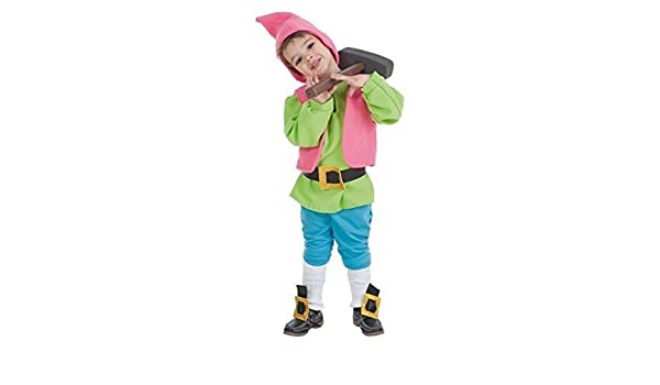LLOPIS - Disfraz Infantil Enanito Verde t-0: Amazon.es: Juguetes y ...