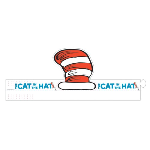 Dr Seuss Hats For Sale (Dr. Seuss The Cat in the Hat Wearable Hats - 32/pkg)