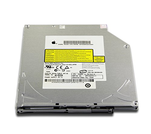 Desktop PC Intenral 8X DL SuperDrive Double Layer DVD-RW Writer for Apple iMac G5 17-Inch A1058 A1144 A1058 A1076 2005 PowerBook G4 Aluminum 17