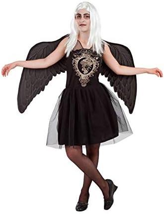 DISBACANAL Disfraz de Ángel Negro Mujer - -, M: Amazon.es ...