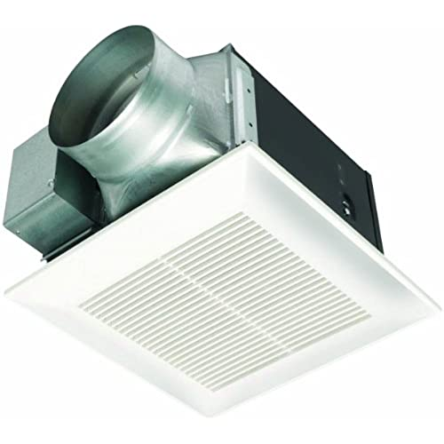 Panasonic quiet ceiling exhaust fan energy star amazon panasonic fv 15vq5 whisperceiling 150 cfm ceiling mounted fan white aloadofball Images