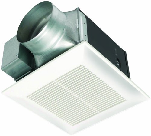 Panasonic FV-15VQ5 WhisperCeiling 150 CFM Ceiling Mounted Fan, White