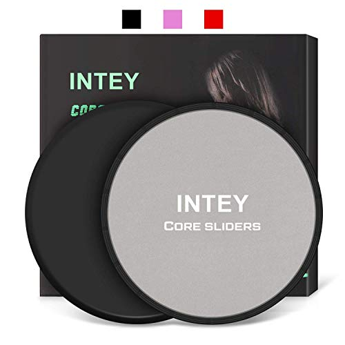 INTEY Exercise Sliders Fitness Workout S...