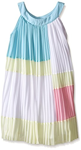 Biscotti Big Girls Spring Spectrum Pleated Dress, Multi, 16 by Biscotti