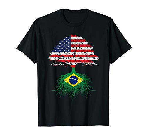 Brazil Brasil Roots American Grown Shirt For Men Women Kids