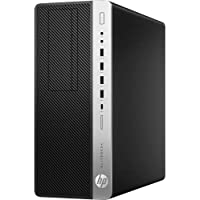 HP EliteDesk 800 G4 Desktop Computer - Intel Core i7 (8th Gen) i7-8700 3.20 GHz - 8 GB DDR4 SDRAM - 256 GB SSD - Windows 10 Pro 64-bit (English) - Tower - DVD-Writer DVD177;R/177;RW - Inte