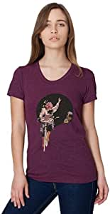 Clockwork Gears Women's So Long Cycling T-Shirt, Cranberry, Small