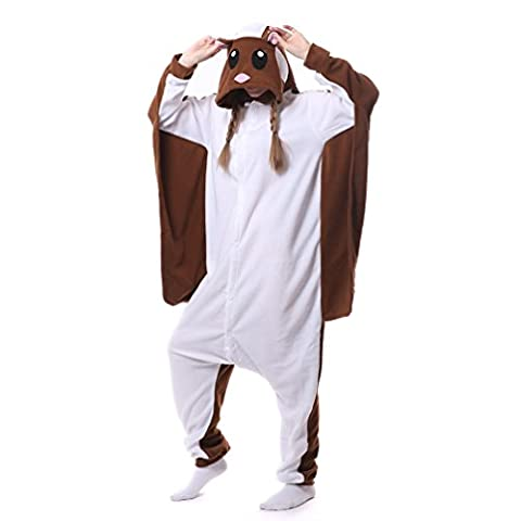 Foresightrade Adults and Children Animal Cosplay Costume Pajamas Onesies Sleepwear (S fit for Height 145-155CM (57