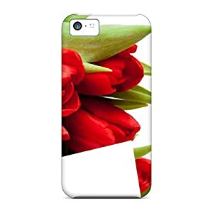 Fashion DulAfsd5693qxamh Case Cover For Iphone 5c(mother S Day Beautiful Flower Tulips)