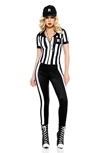 Music Legs Half Time Referee Costume (XS) -