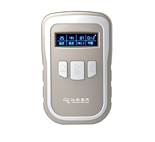 AiRead N1 Industrial Grade Real-time Air Quality Monitor, PM 2.5/HCHO/Temp/HUM Multi Tester with Smart App and High Accuracy Laser Sensor Indoor Air Composition Detector Meter Reader by AiRead