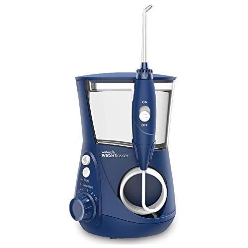 chollos oferta descuentos barato Waterpik WP 663EU Aquarius Irrigador dental 100 240V depósito de agua de 650 ml Azul