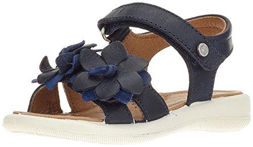Naturino 6041, Sandalia con Pulsera Para Niñas Azul (Bleu)