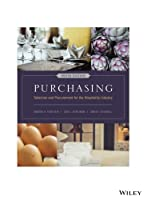 Purchasing: Selection and Procurement for the Hospitality Industry, 9th Edition Front Cover