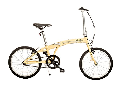 Bike USA Ubike Rapido Single Speed Folding Bicycle with 20'' Wheel, 10''/One Size by Bike USA