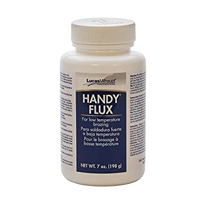 Handy Flux, 7 Ounce Jar with Brush | SOL-950.01