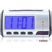 8GB Mini Hidden Camera Clock Spy Covert Camera Motion Detection Nanny Camcorder Home Security Video Camera
