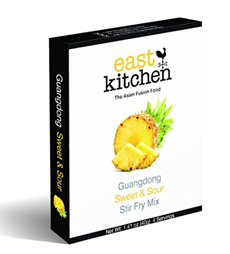 East Kitchen Guangdong Sweet and Sour, Stir Fry Mix, Gourmet Sauce (Pack of 5) (Sweet And Sour Powder Mix)