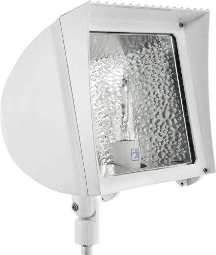 RAB FX70XLQTW Flexflood 70W, High Pressure Sodium Qt HPF + Fxl Large Wall Mount + Lamp, White Color - Fxl Lamp