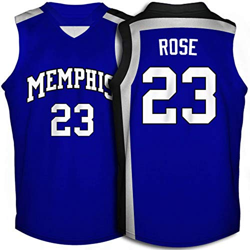 Memphis Tigers Derrick Rose #23 College Basketball Throwback -