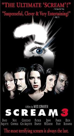 Scream 3 (Special Edition) [VHS]