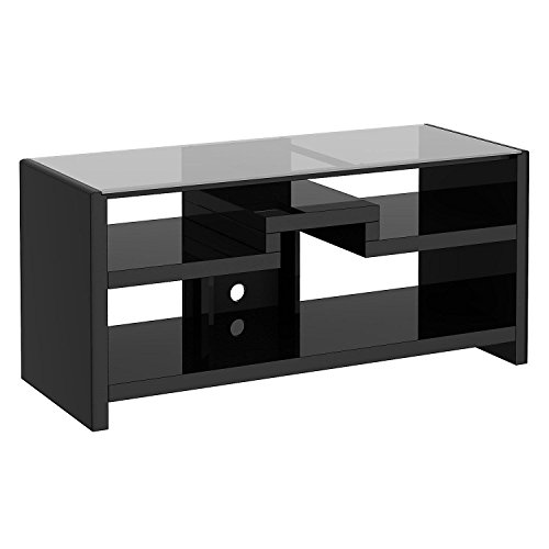 kathy ireland Office by Bush Furniture Gaming Center – TV Stand, Modern Mocha