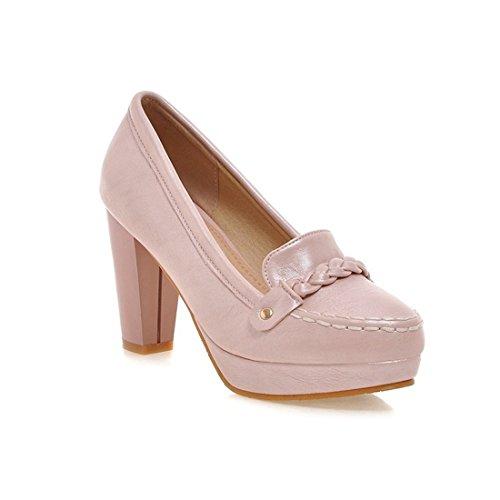 Tacon Zapatos Mujeres de Alto Ocasionales Pink de DEDE es Las de Estudiantes Zapatos Las Duro Coreano Zapatos y Mujeres Los de Zapatos Sandalette los f7vwxZPz7