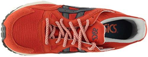 Asics H6a2y-2411: Gel-lyte V 5 Chili / Grijs Premiecomfort Sneaker Voor De Jeugd / Volwassenen (9,5 D (m) Ons Mannen)