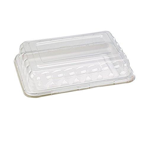 "PacknWood Sugarcane Rectangular Platter, 17.7"" x 12"""