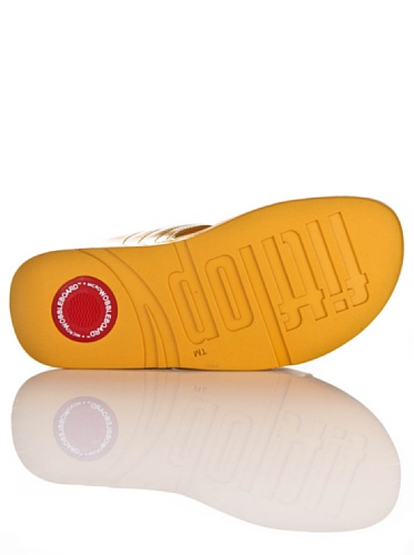 Fitflop Walkstar Tm Slide - - Mujer Ocre