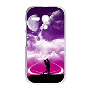 Motorola Moto G Cases Cell phone Case Boy and girl 's love Rsbwg Plastic Durable Cover